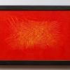Third, 20 x 30, acrylic, 2017, framed